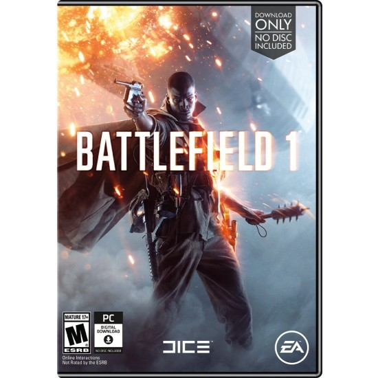 Battlefield 1 - Code in a box | PC - Physical Box
