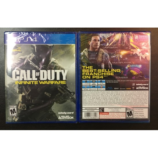 Call of Duty: Infinite Warfare - Include Terminal bonus map - PlayStation 4