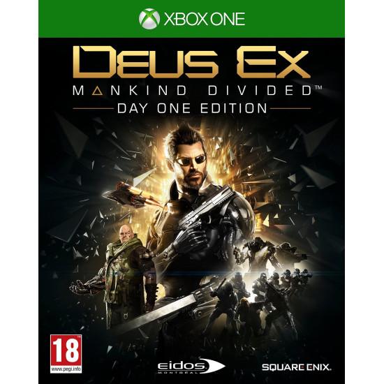 Deus Ex: Mankind Divided Steelbook Edition | XB1