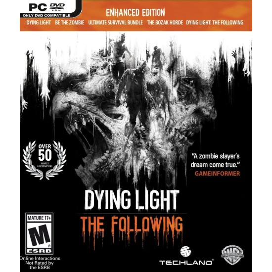 Dying Light: The Following - Enhanced Edition | PC Disc