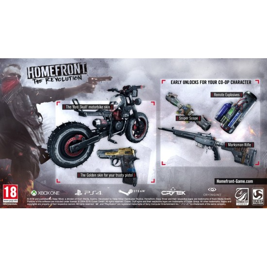 Homefront The Revolution Day One Edition | PC Disc