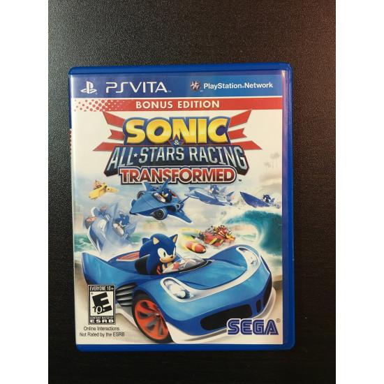 Sonic & All Stars Racing Transformed Pre-Owned | PSVita