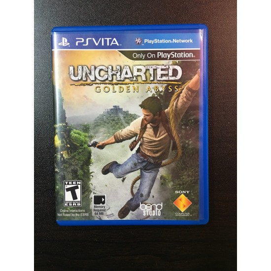 Uncharted: Golden Abyss Pre-Owned | PSVita