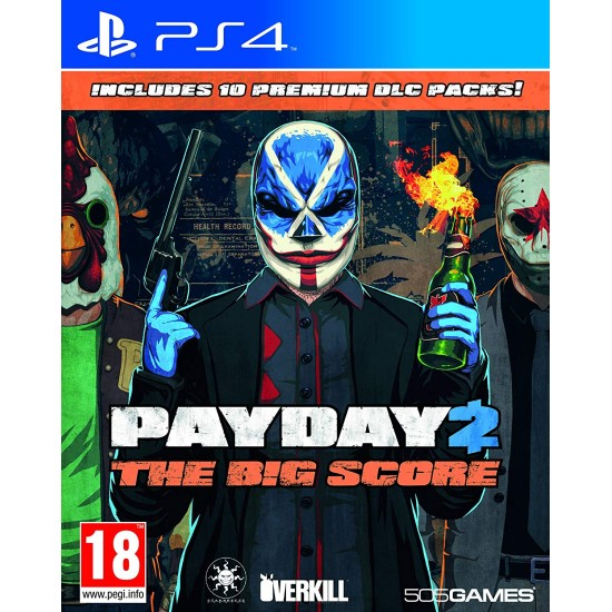 Payday 2 - The Big Score   PS4