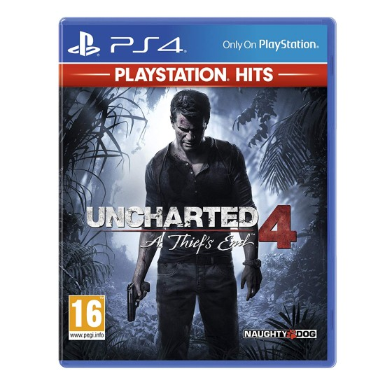 Uncharted 4: A Thiefs End - PlayStation Hits   PS4