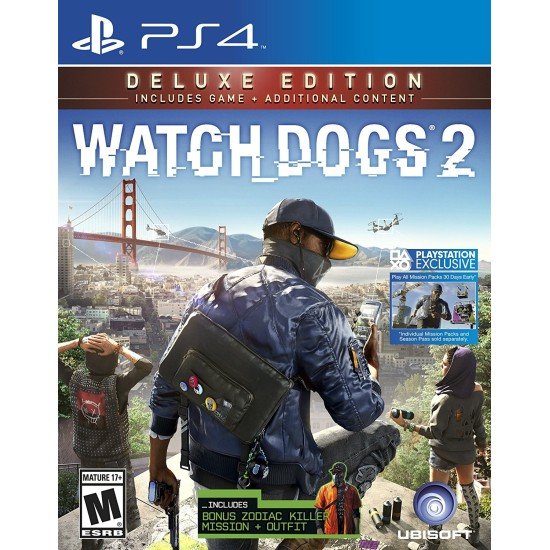 Watch Dogs 2 - Deluxe Edition | PS4
