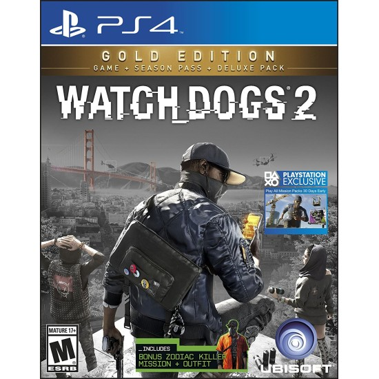 Watch Dogs 2 - Gold Edition | PS4