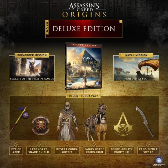 Assassins Creed Origins - Deluxe Edition | XB1