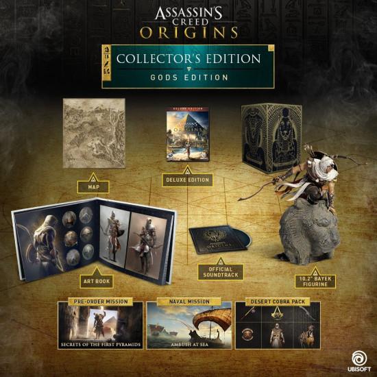 Assassins Creed Origins - GODS Collector's Edition | XB1