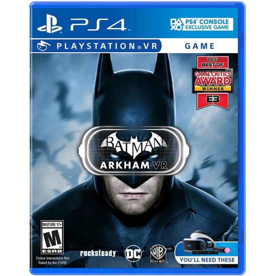 Batman: Arkham - PlayStation 4 - PSVR