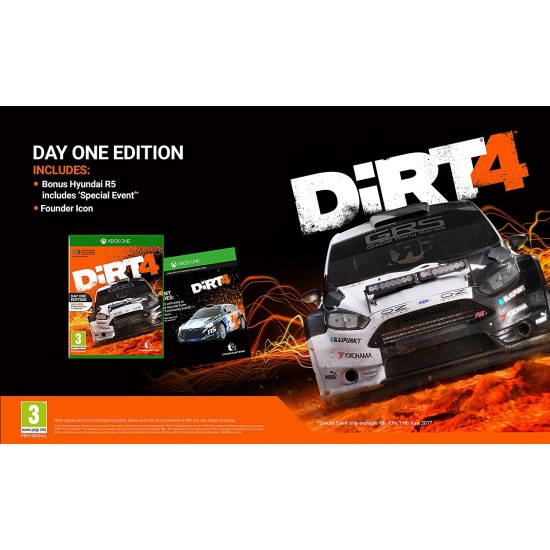 Dirt 4 - Day One Edition | XB1