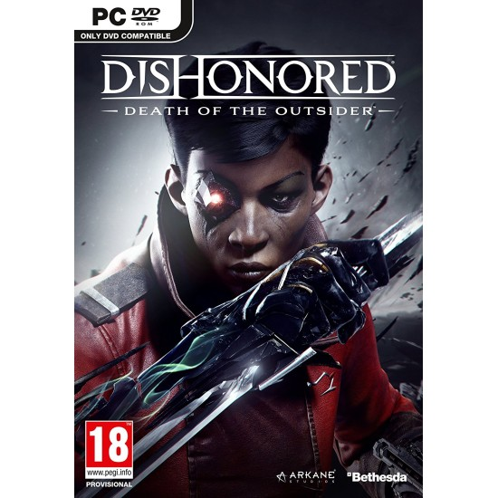 Dishonored Death of the Outsider | PC - DVD