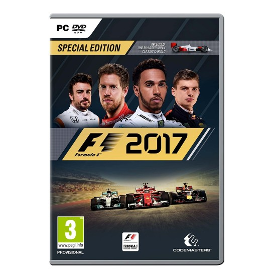 F1 2017 - Special Edition   PC - DVD