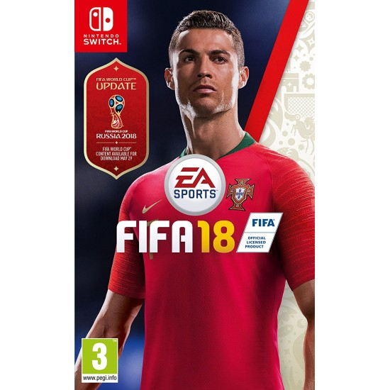 FIFA 18 - Russia World Cup 2018 Cover   Switch