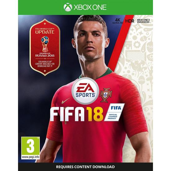 FIFA 18 - Russia World Cup 2018 Cover   XB1