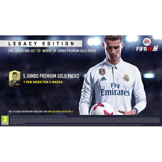 FIFA 18 - Legacy Edition | PS3
