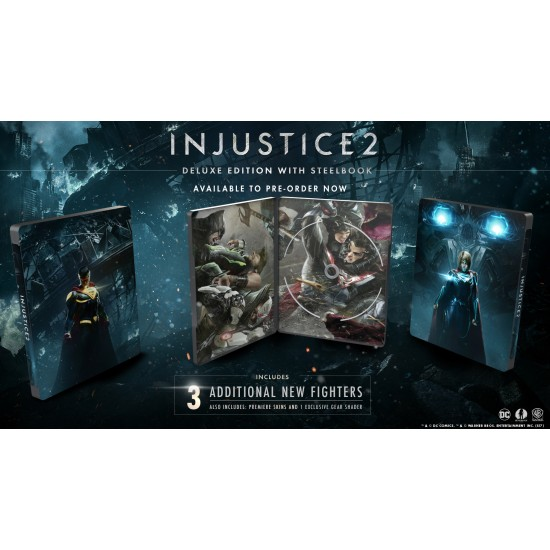 Injustice 2 - Deluxe Edition | PS4