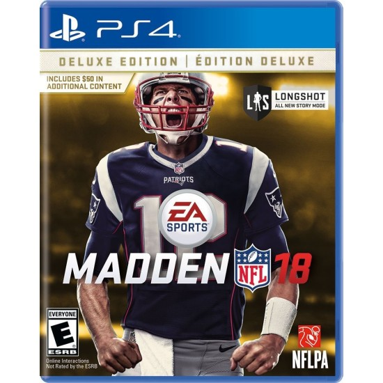 Madden NFL 18 - Deluxe Edition - PlayStation 4