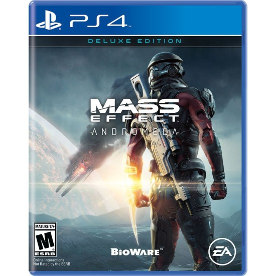 Mass Effect Andromeda - Deluxe Edition | PS4