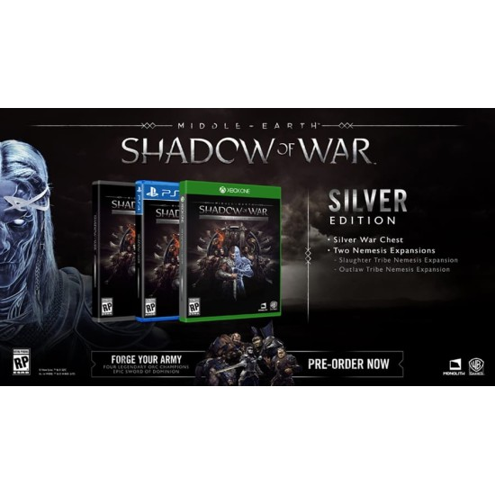 Middle-Earth: Shadow of War - Silver Edition - PlayStation 4