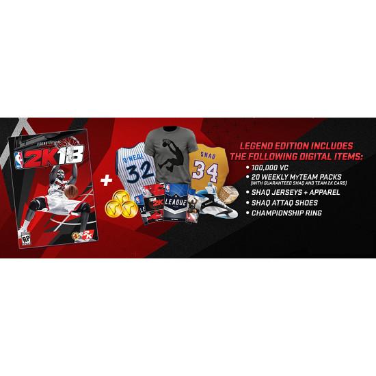 NBA 2K18 - Legend Edition | PS4