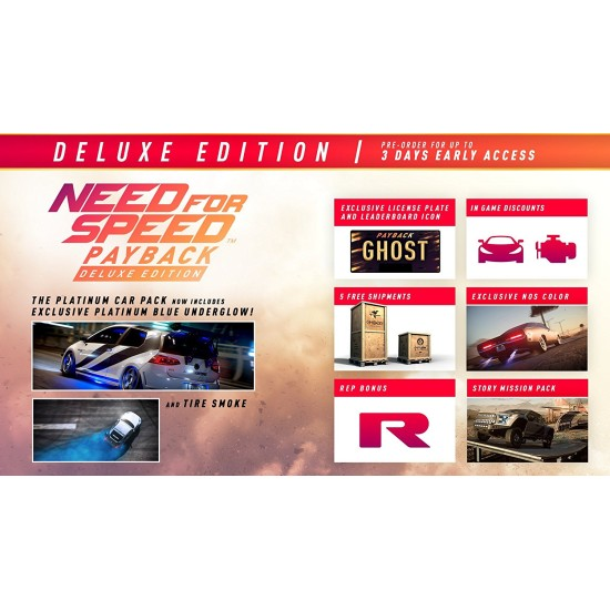 Need For Speed PayBack - Deluxe Edition | PS4