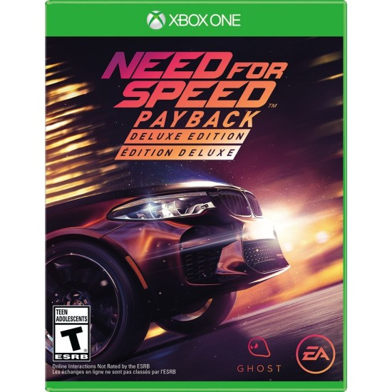 Need For Speed PayBack - Deluxe Edition   XB1