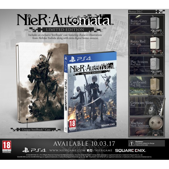 Nier Automata - Limited Edition | PS4