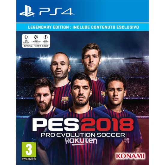 PES 2018 - Legendary Edition | PS4