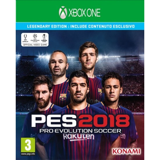 PES 2018 - Legendary Edition - XB1