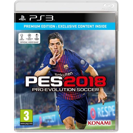 PES 2018 - Premium Edition | PS3