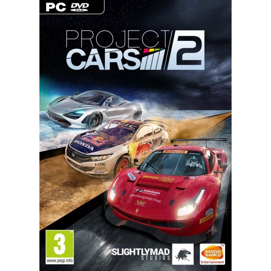 Project Cars 2   PC - DVD