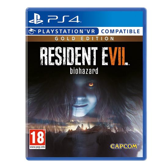 Resident Evil 7 Biohazard - Gold Edition   PS4 - PSVR