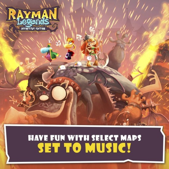 Rayman Legends Definitive Edition | Switch