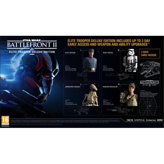 Star Wars Battlefront II: Elite Trooper Deluxe Edition | PS4