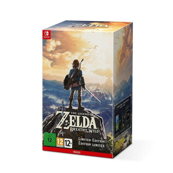 The Legend of Zelda: Breath of the Wild - Limited Edition   Switch