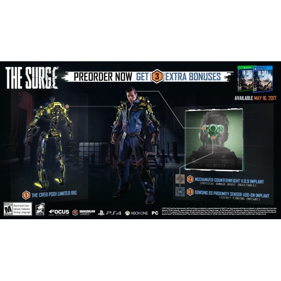 The Surge | PC - DVD Disc
