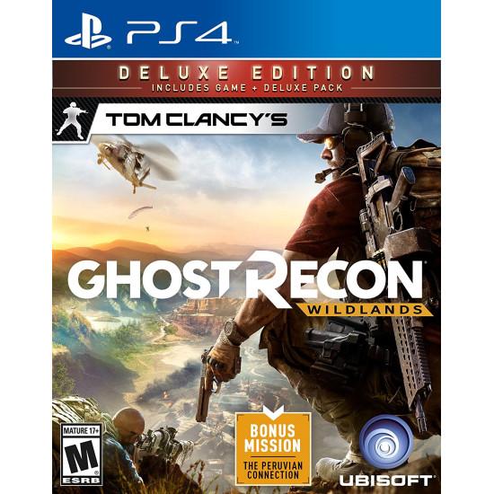 Tom Clancys Ghost Recon Wildlands - Deluxe Edition   PS4