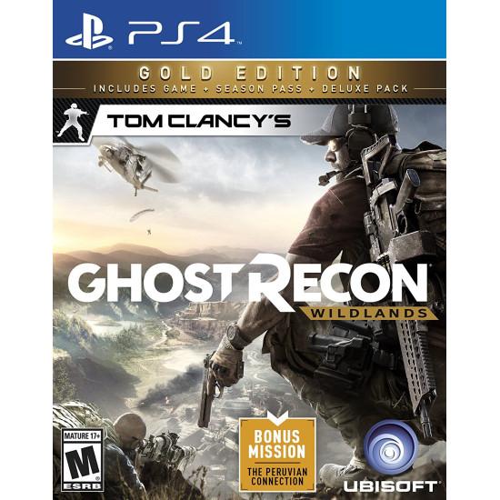 Tom Clancys Ghost Recon Wildlands - Gold Edition   PS4