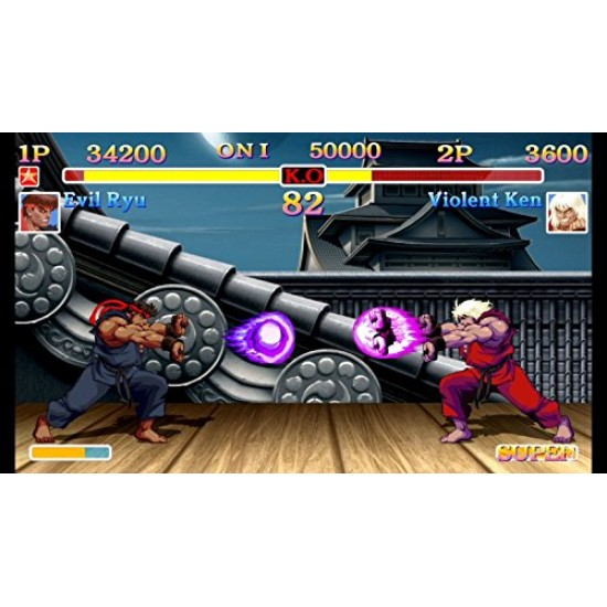 Ultra Street Fighter II: The Final Challengers - Switch