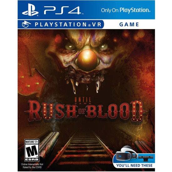 Until Dawn Rush of Blood - PSVR | PS4