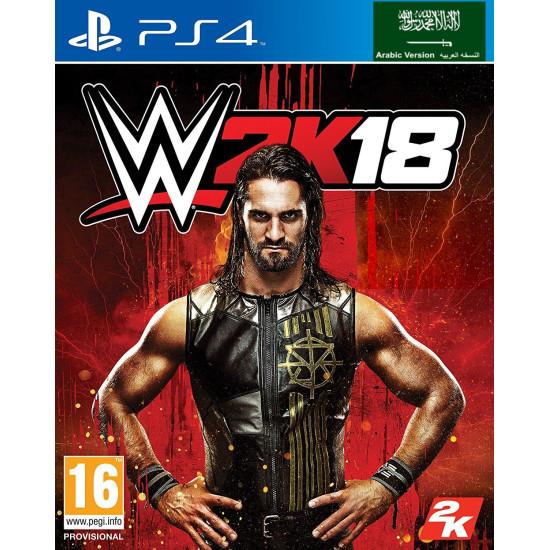 WWE 2K18 - Arabic Edition   PS4