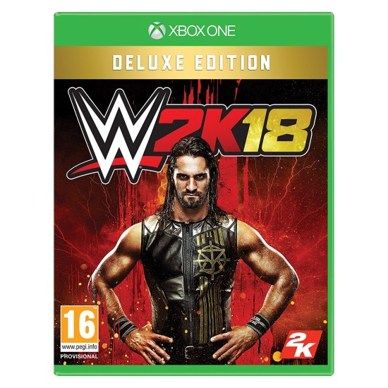 WWE 2K18 - Deluxe Edition   XB1