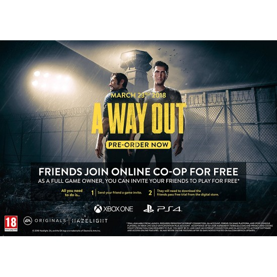 A Way Out - PC - Digital Code