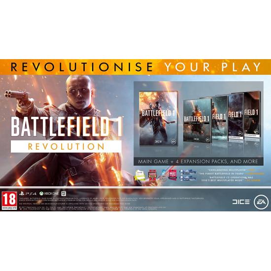 Battlefield 1 Revolution - Arabic Subtitle - PS4