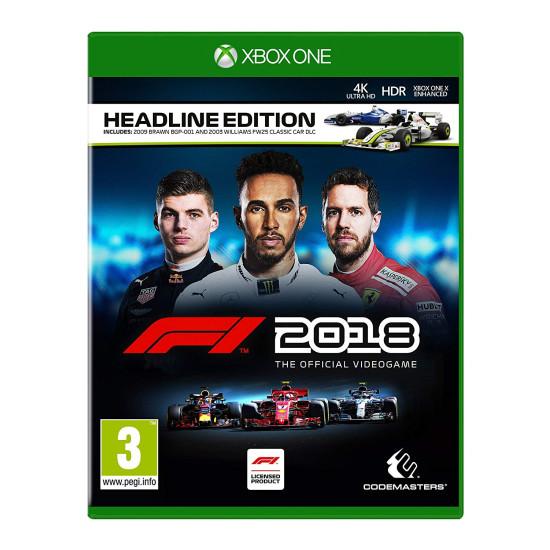 F1 2018 Headline Edition   XB1