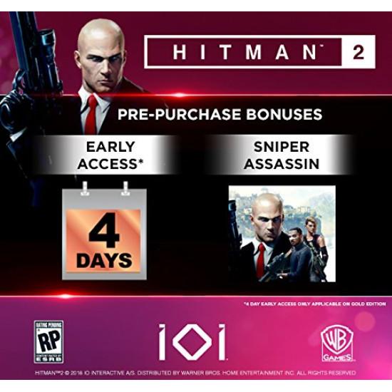 Hitman 2 - Gold Edition - PC - Steam Digital Code