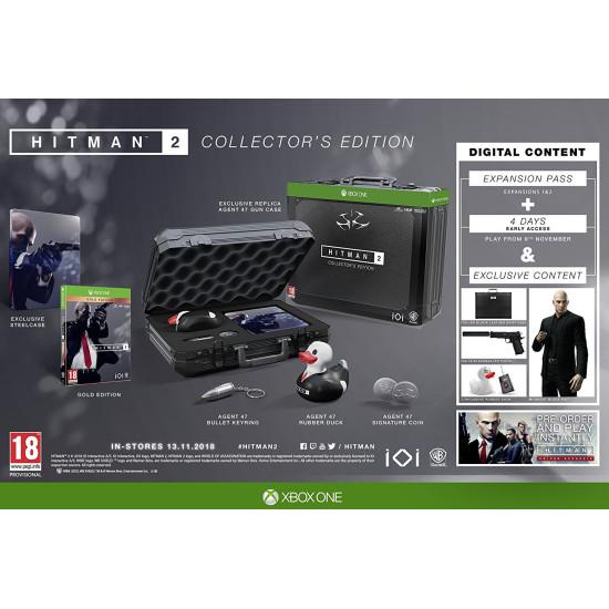 Hitman 2 - Collectors Edition   XB1