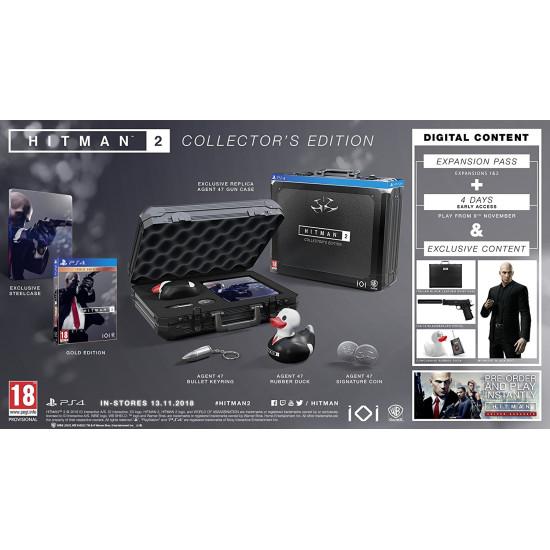 Hitman 2 - Collectors Edition | PS4