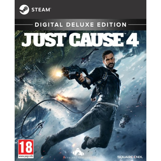 Just Cause 4 - Deluxe Edition - PC - Steam Digital Code